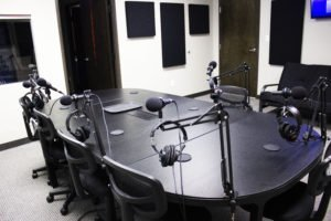 mzStudios, Podcast Recording Studio Dallas, Texas - Studio A